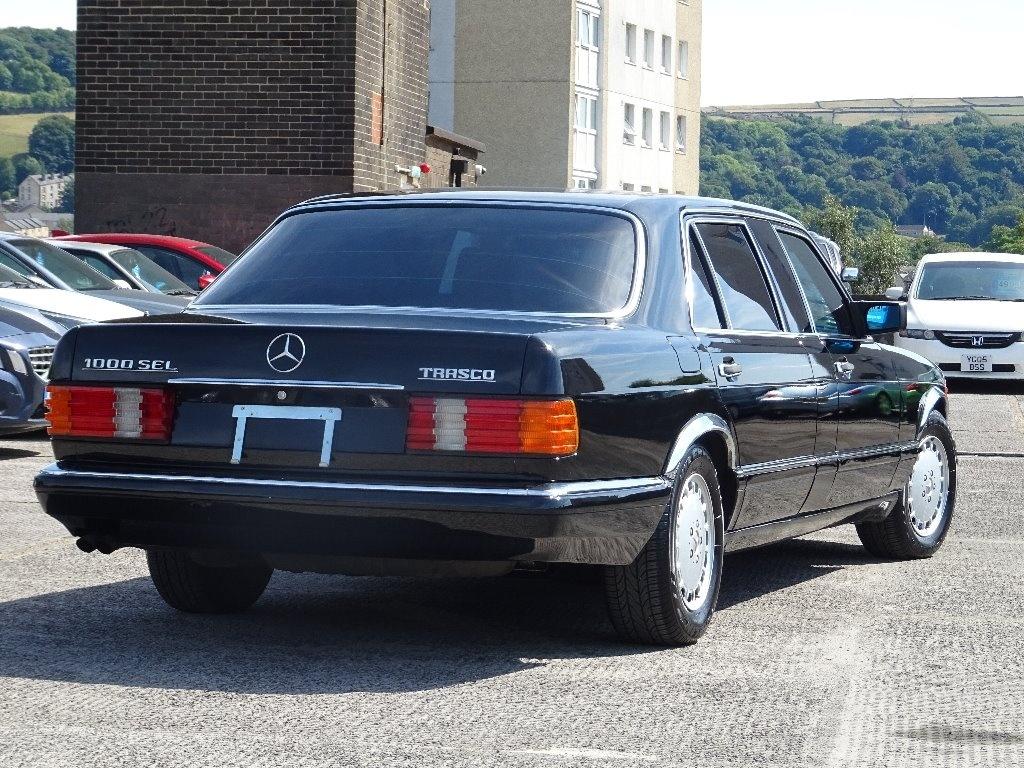 (V126): Classe S 1000SEL 1989 TRASCO® Dd1b8110