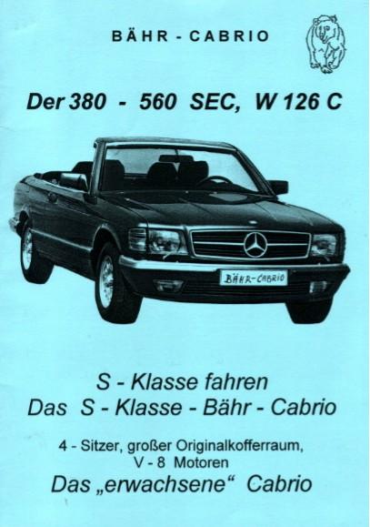 (C126): Conversão feita pela Bähr Cabrio® Dfa9d010