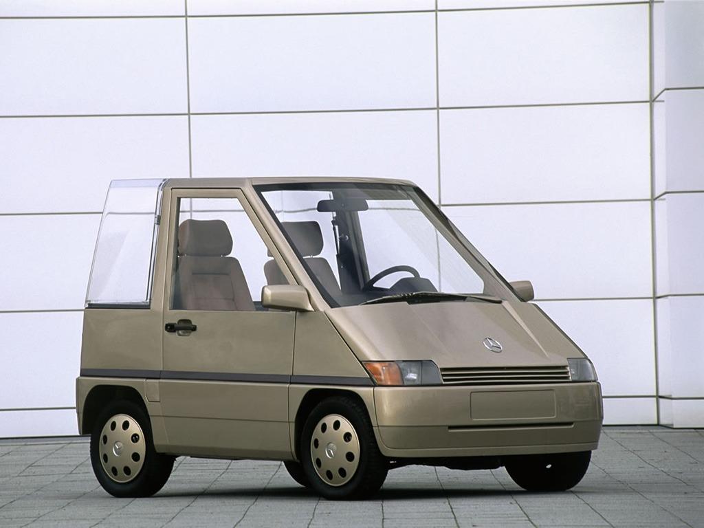 (CONCEITO): Mercedes-Benz NAFA Concept 1982 E0332210