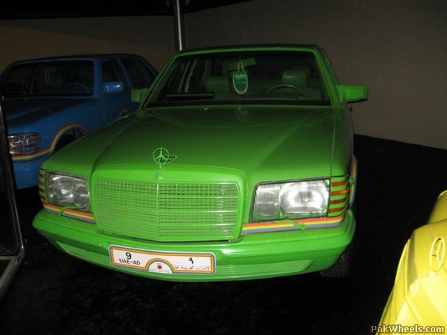 (V/W126): As exóticas Classe S do Sheik Hamad Bin Hamdan Al-Nahyan - SGS Styling Garage Hamburg® E3c51910