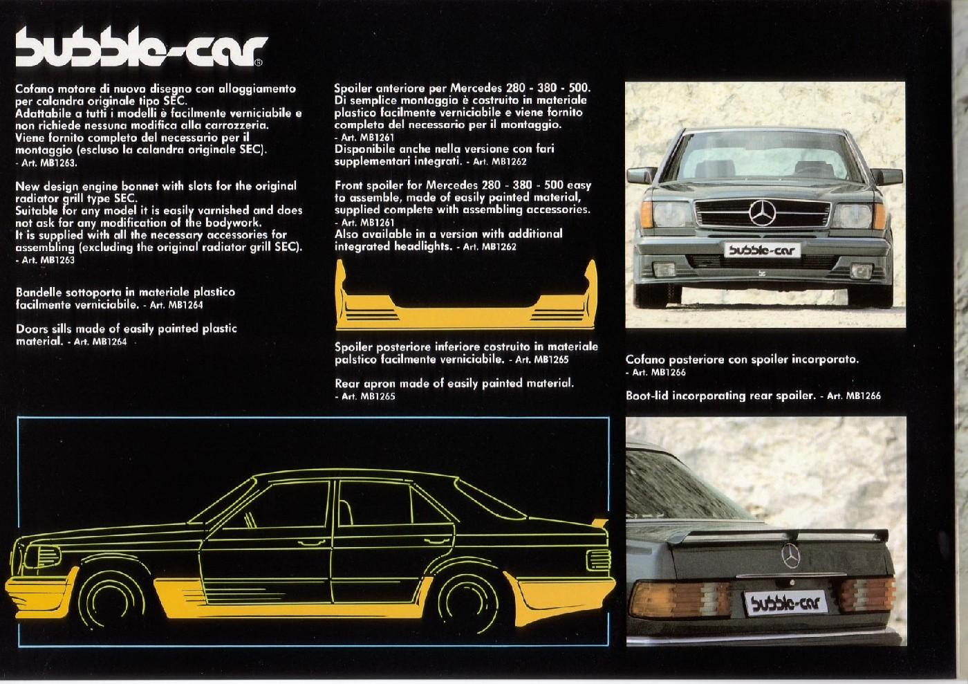 (CATÁLOGO): Bubble-car® E45f7d10