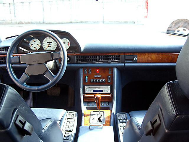 (W126): 560SEL AMG 6.0 - 4 assentos Recaro® - azul/azul E79e9210