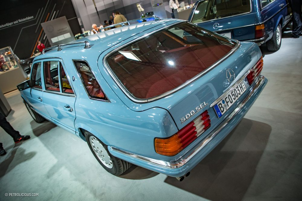 """(""""SC""""126): A rara conversão de W126 em perua SportCoupe pela Zender® Eb21eb10"""