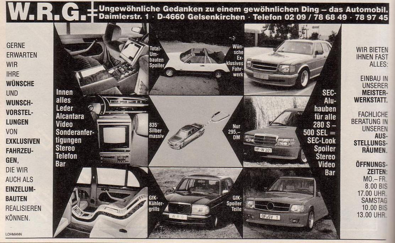 (W.R.G.): As conversões da empresa alemã  F07d9f10