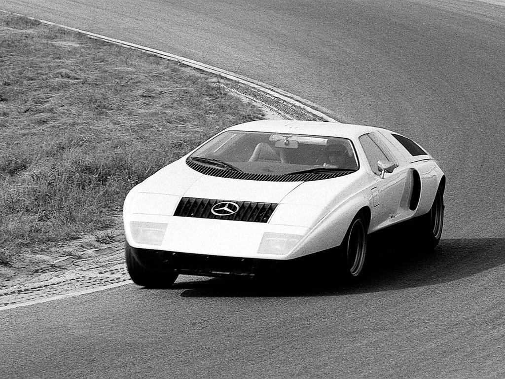 (CONCEITO): Mercedes-Benz C111-I Concept 1969 F1a9a310