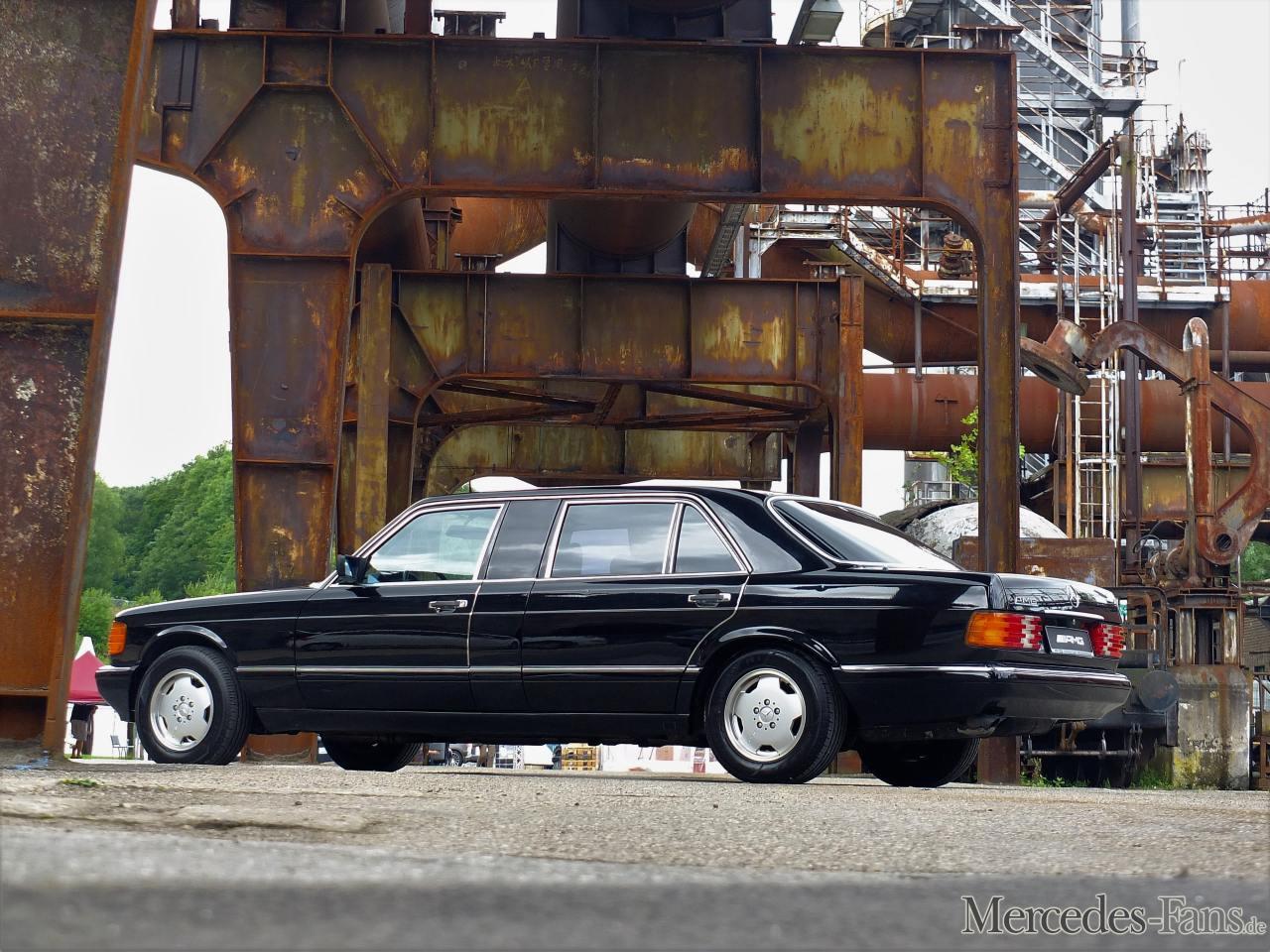 (V126): Versão única de uma 560 SEL construída pela AMG para o embaixador japonês no Canadá F1d41510