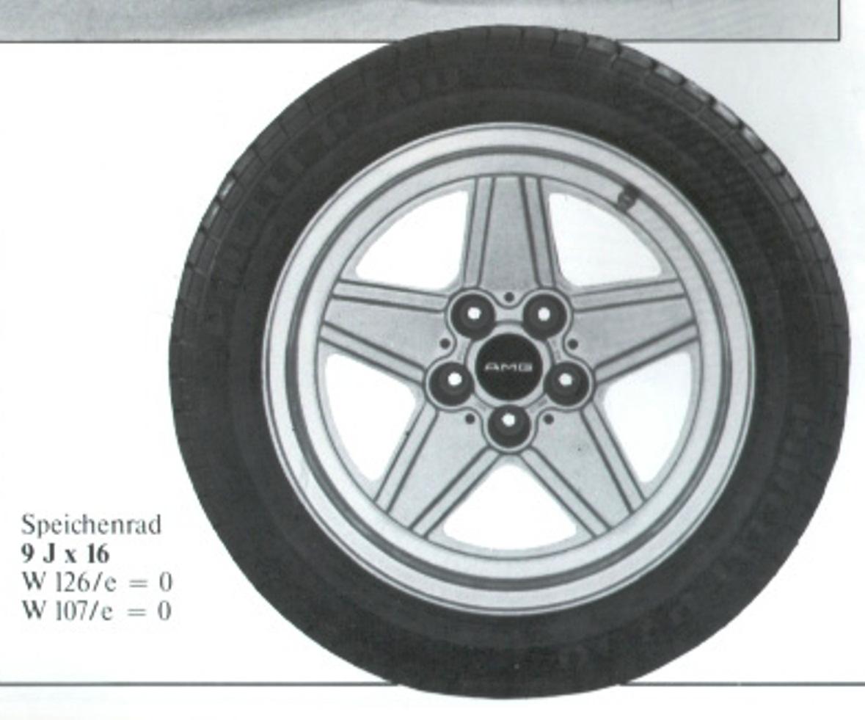 (CATÁLOGO): Rodas Penta AMG para W116 e W123 F3c4f710