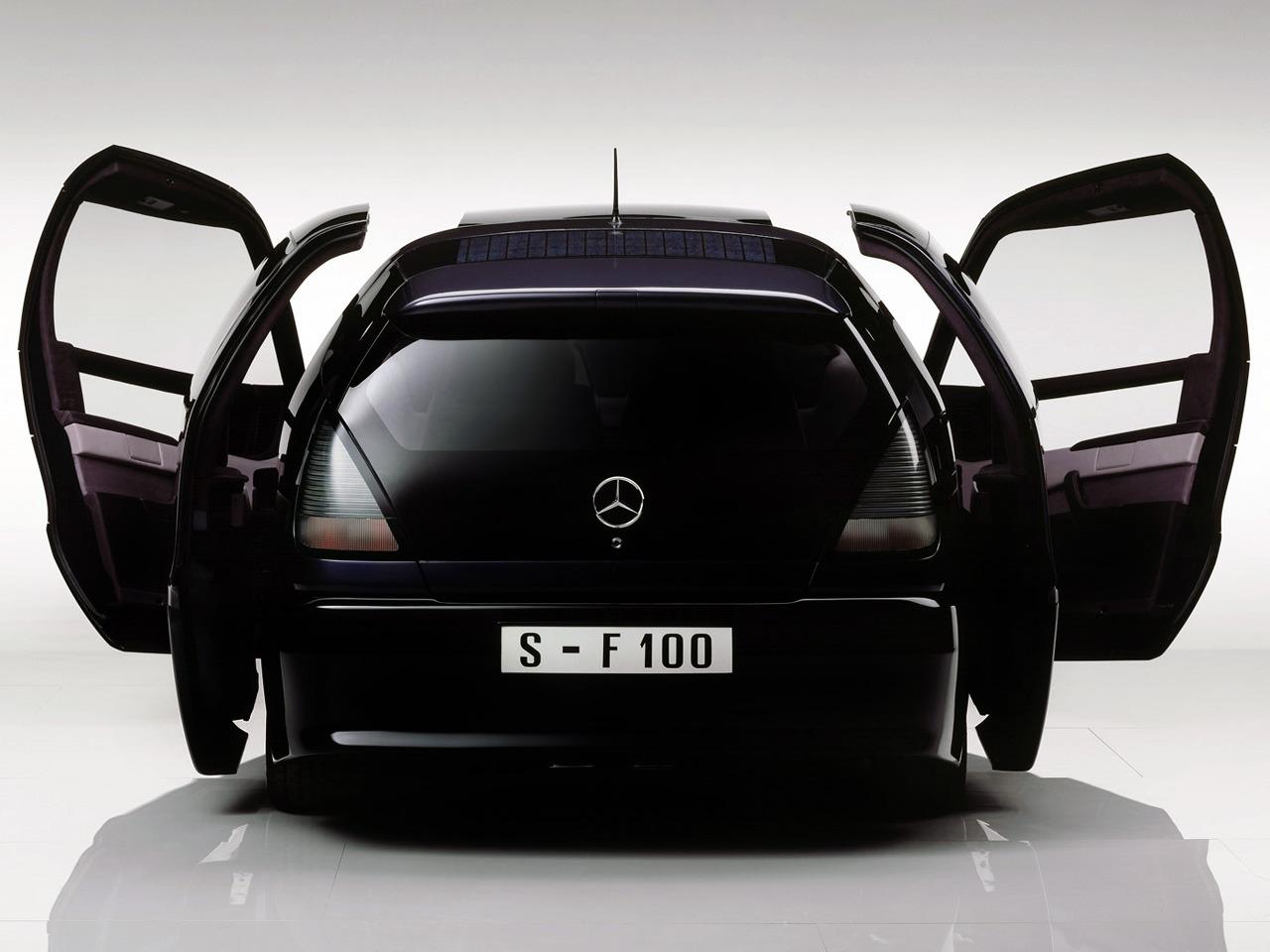 Curiosidade: Mercedes F100, um carro-conceito esquecido F4c87710