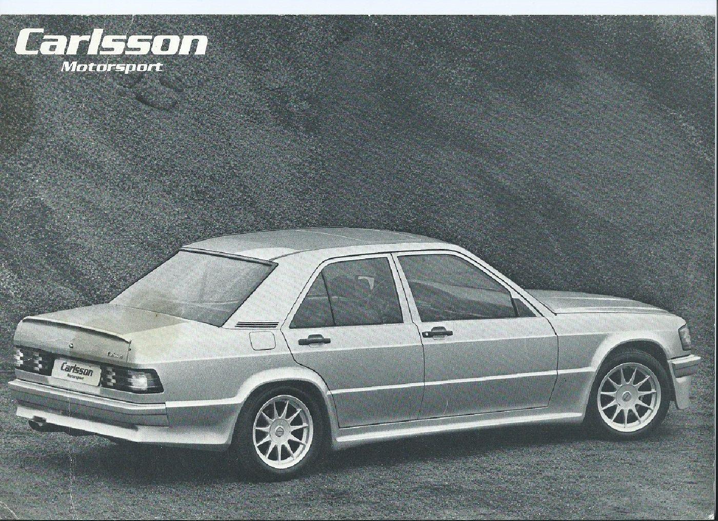 (W201): Catálogo 190E Carlsson® F9672110