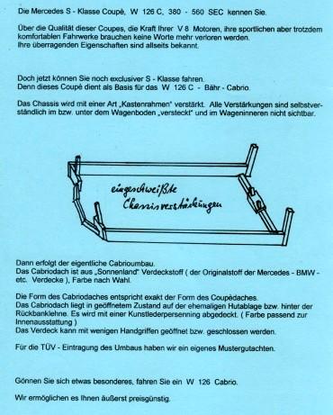(C126): Conversão feita pela Bähr Cabrio® Fae81c10