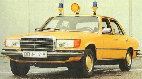 (W116): 350SE versão para polícia  Fc2bbd10