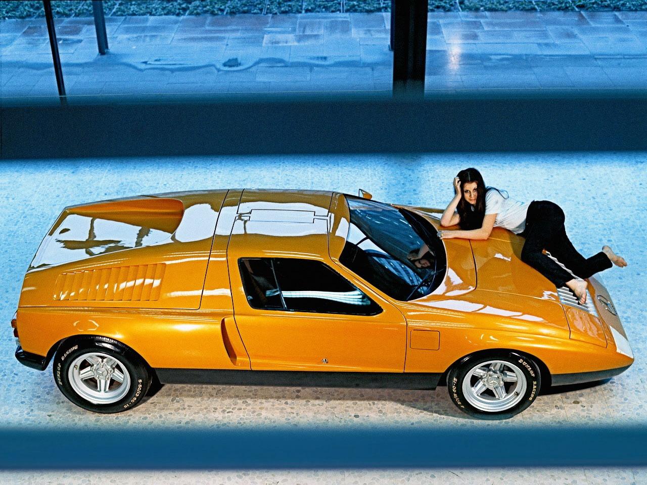 (CONCEITO): Mercedes-Benz C111-I Concept 1969 Feea9e10