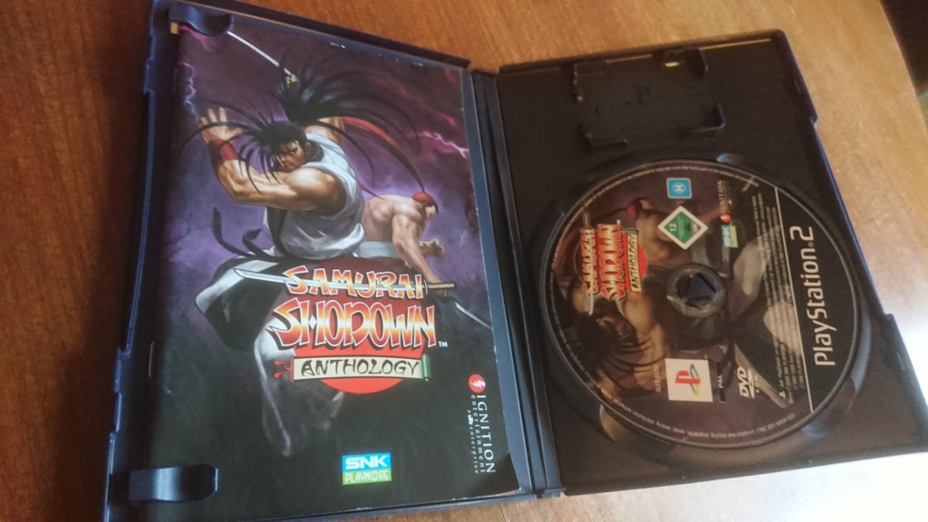 [VDS] PS2 PAL FR KOF98UM / SAMURAI COLLECTION /NEOGEO BATTLE COLISEUM Dsc_0117