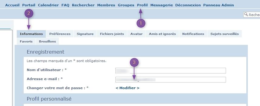 modifier email d'un membre 2020-112