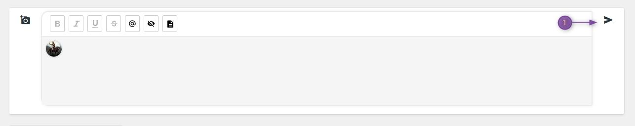 Ajouter boutons dans éditeur de réponse rapide  2021-026