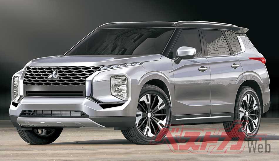 2020 - [Mitsubishi] Outlander IV 20200510