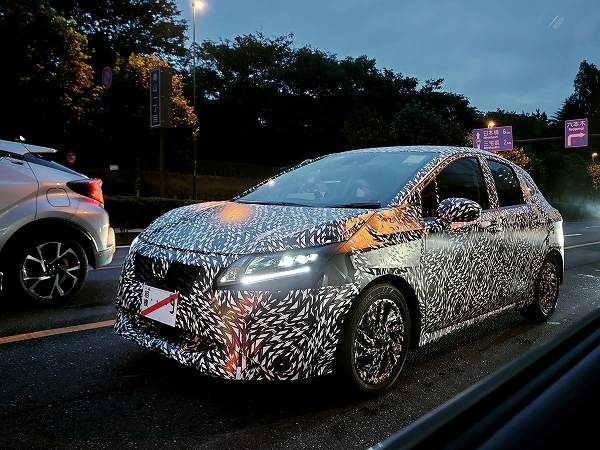 2021 - [Nissan] Note III 20200815