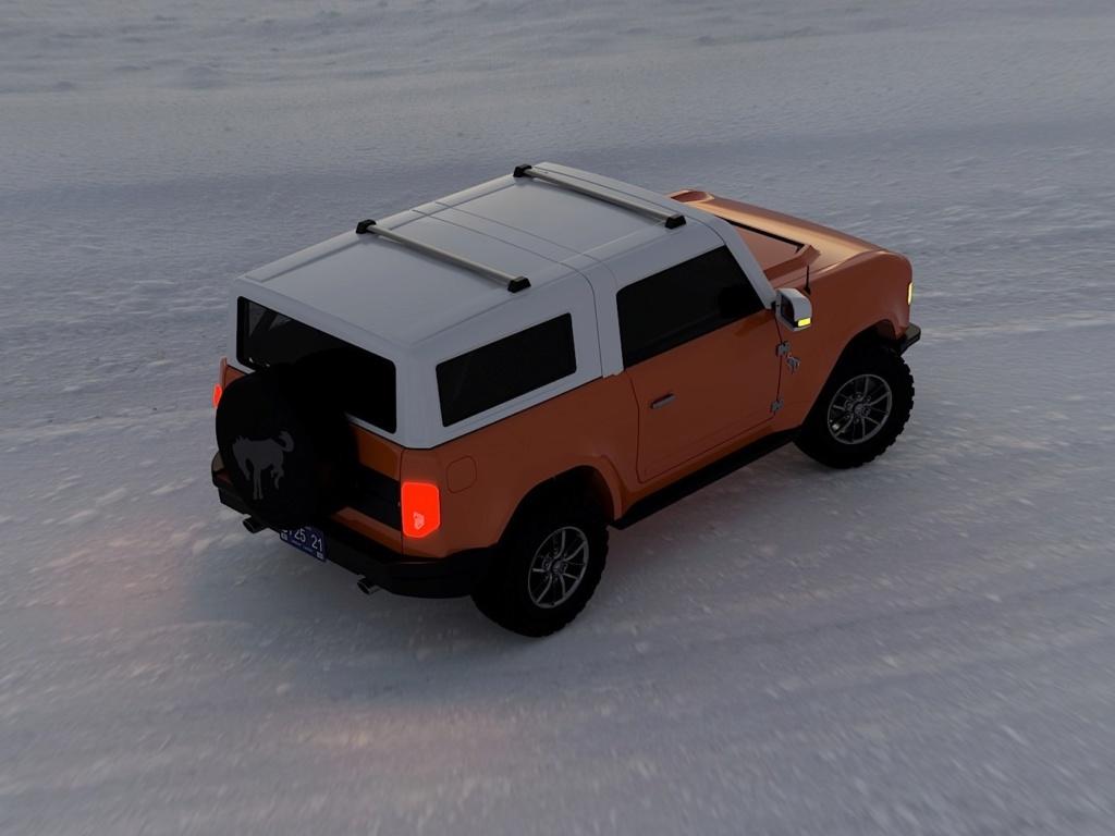 2020 - [Ford] Bronco VI - Page 3 2021-f55