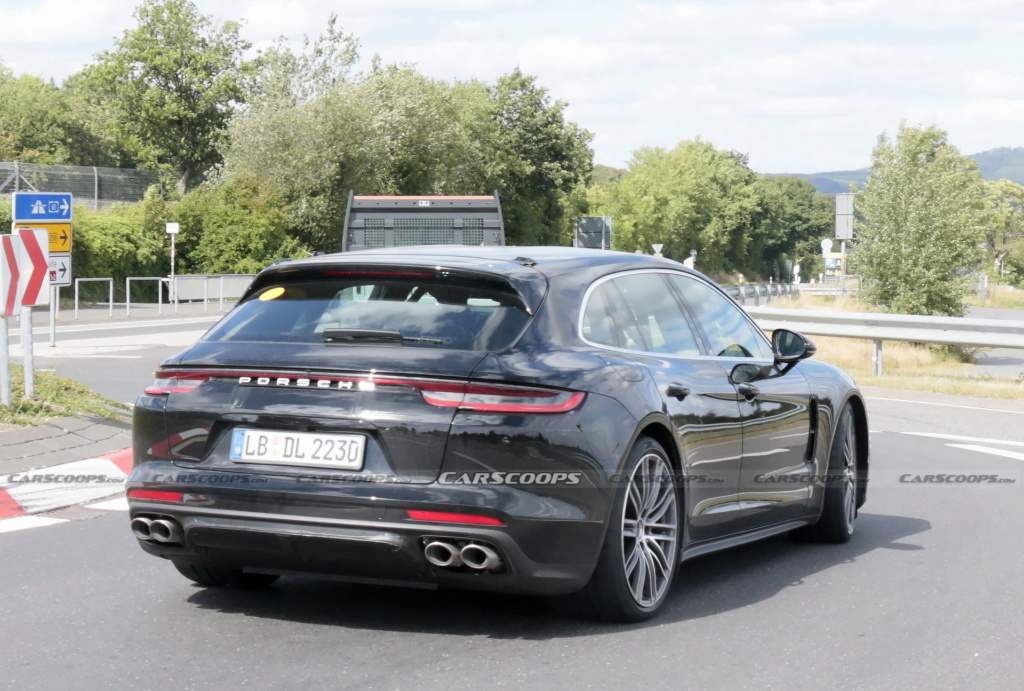 2020 - [Porsche] Panamera II restylée  2021-p41