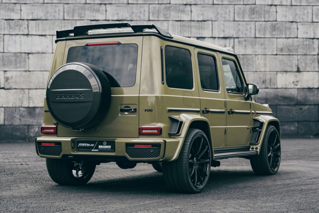 2017 - [Mercedes-Benz] Classe G II - Page 9 Brabus13