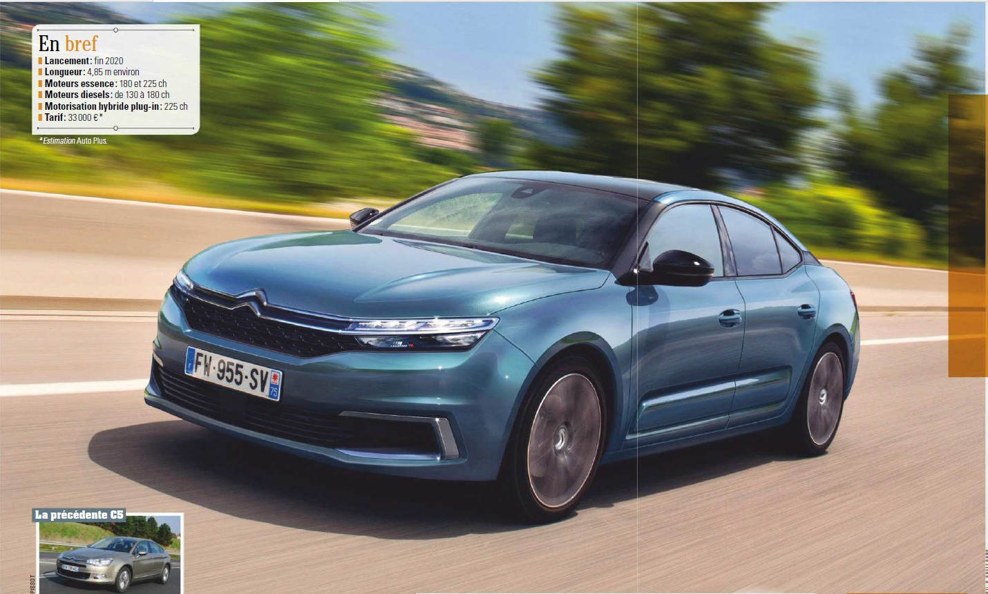 2021 - [Citroën] C5 III  [E43] - Page 6 C510