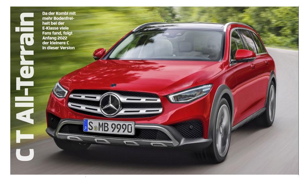 2020 - [Mercedes-Benz] Classe C [W206] - Page 6 Cclass11