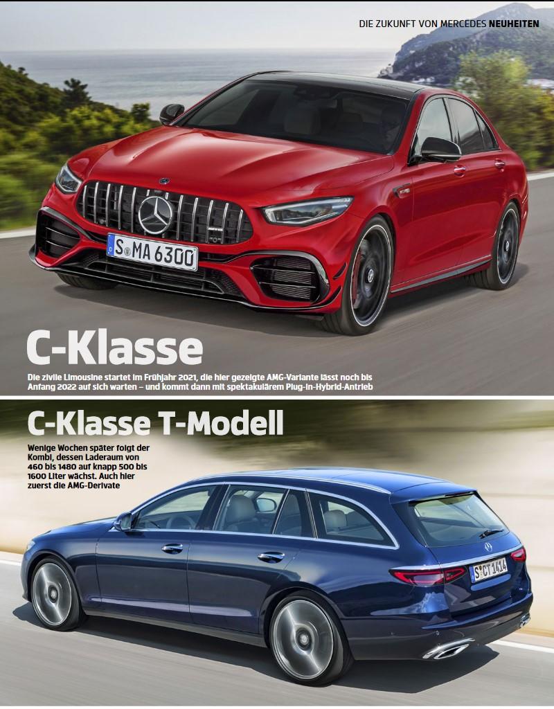 2020 - [Mercedes-Benz] Classe C [W206] - Page 6 Cclass12