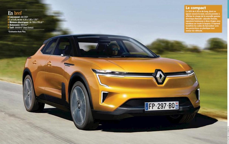 2021 - [Renault] SUV EV [BCB] - Page 2 Ev11