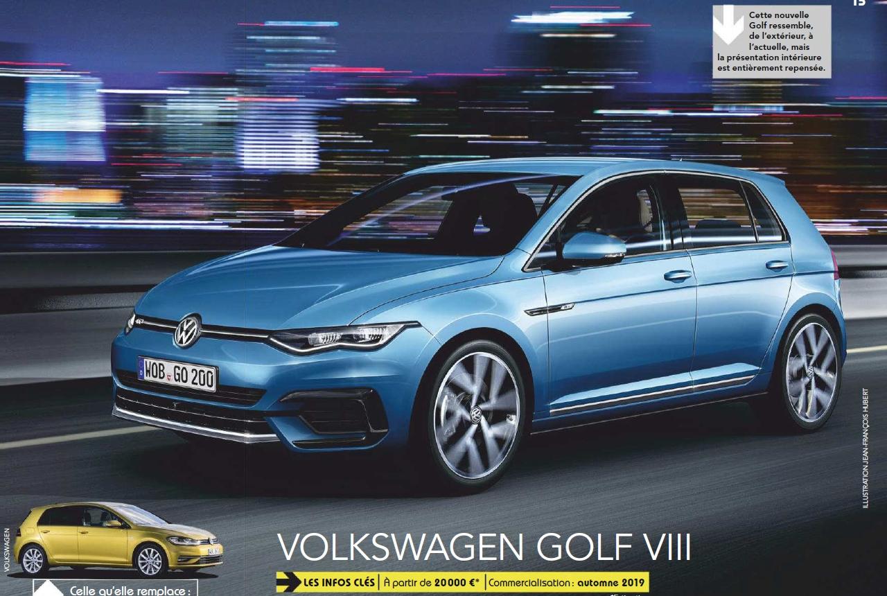 2020 - [Volkswagen] Golf VIII - Page 13 Golf10