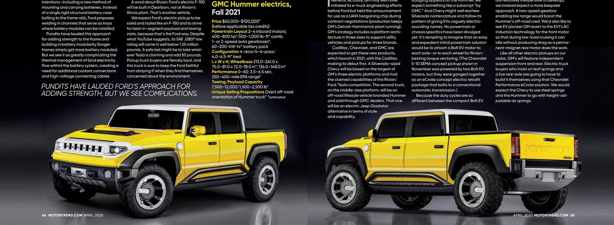 2021 - [GMC] Hummer EV Truck  Humm10
