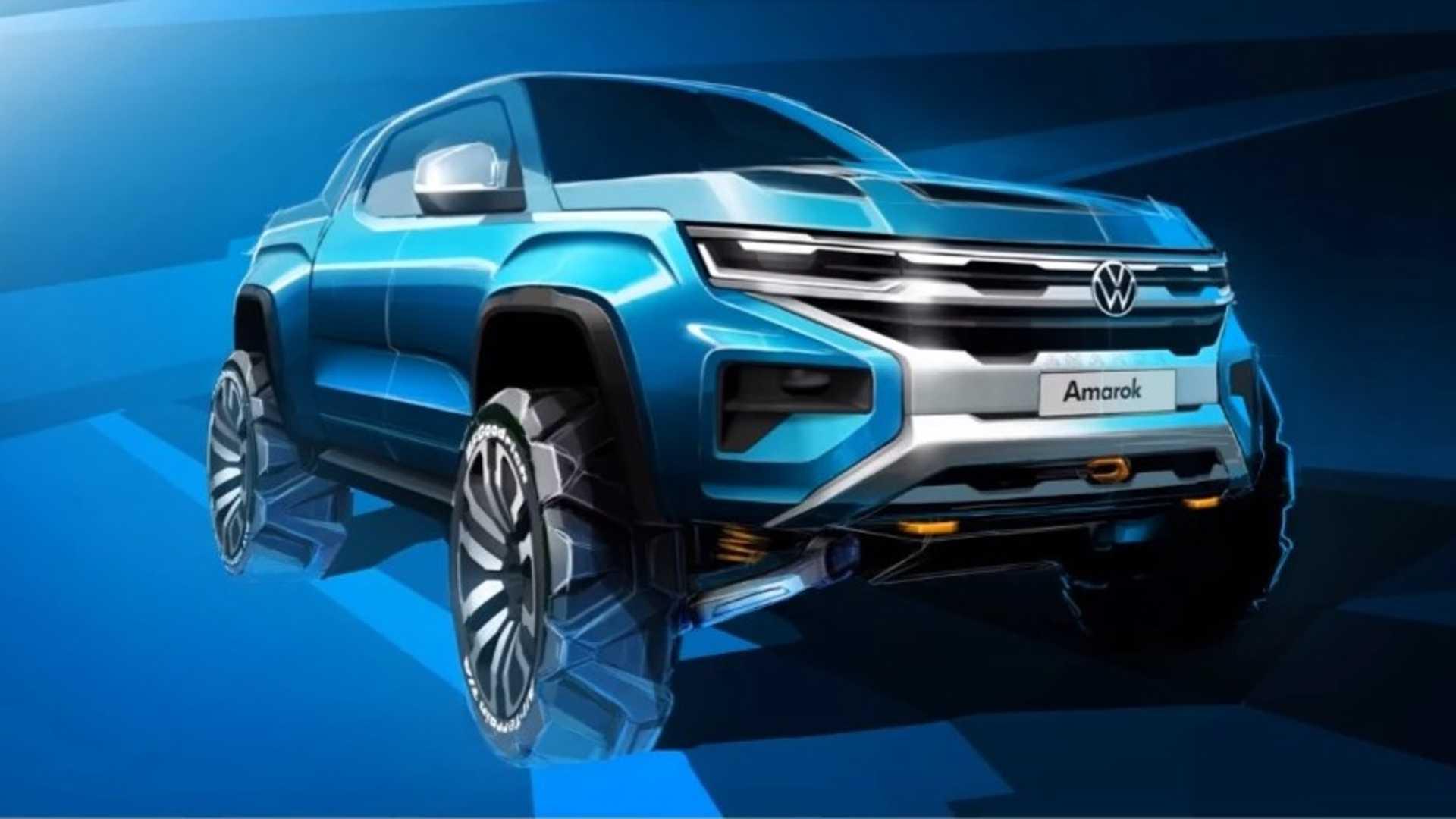 2022 - [Volkswagen] Amarok II New-vw10