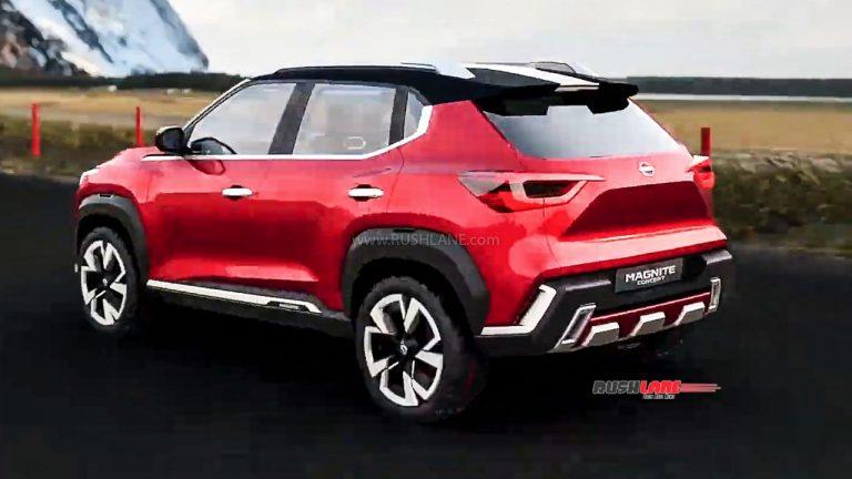 2020 - [Nissan] Magnite Concept Nissan57