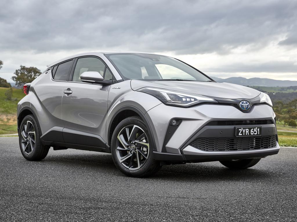 Toyota C-HR Facelift (2019) 11