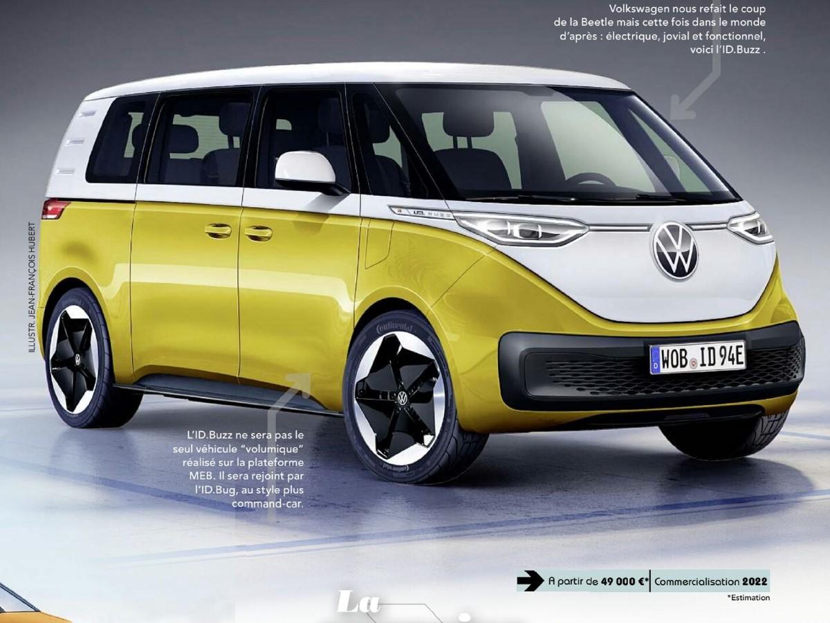 2022 - [Volkswagen] Microbus Electrique - Page 4 Vw12