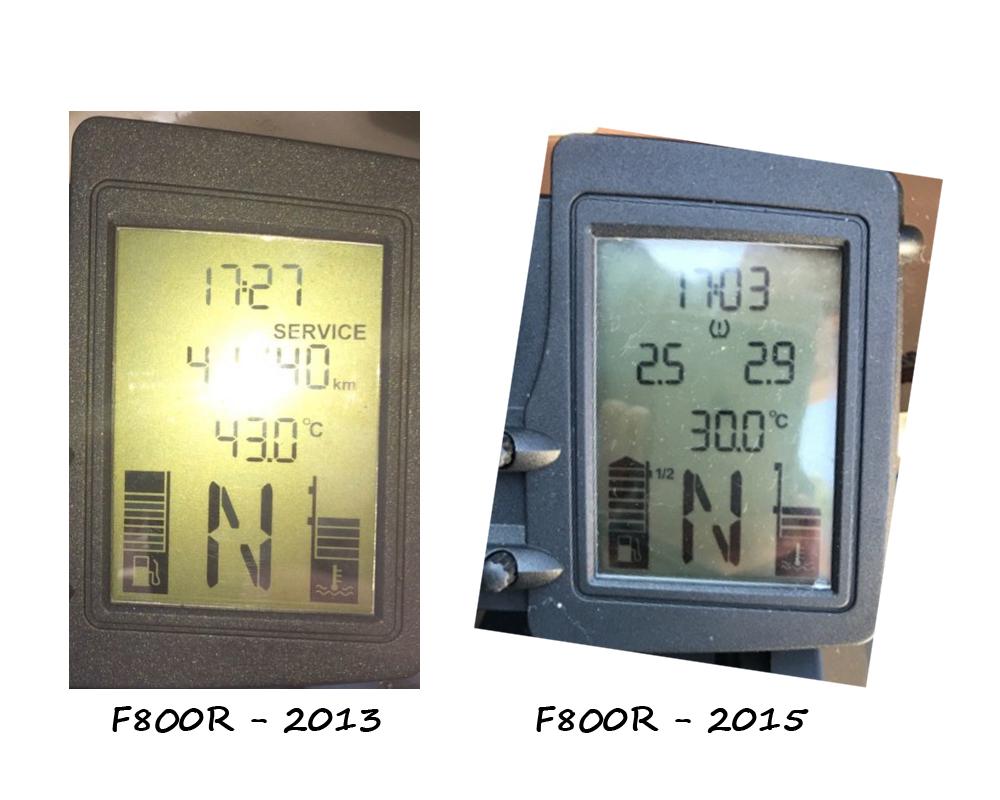 température du liquide de refroidissement Compar10
