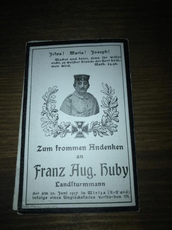 Avis de décès soldat allemand 14-18  - Page 2 02093510