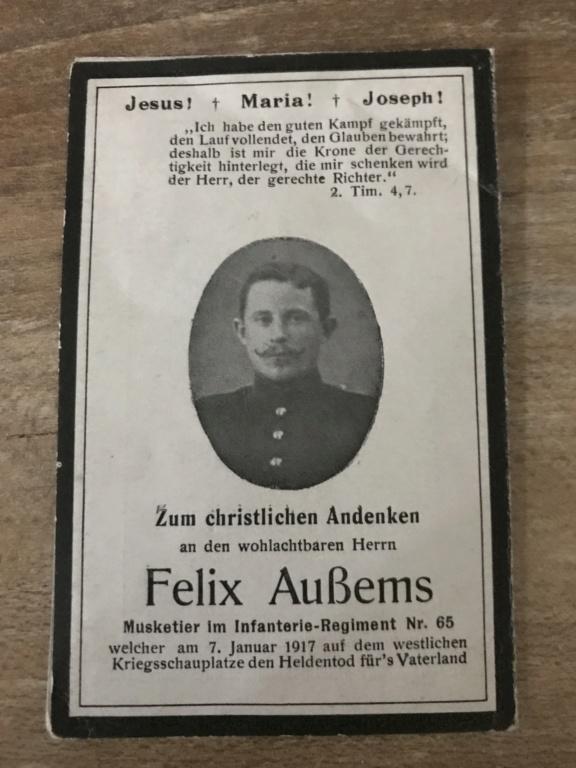 Avis de décès soldat allemand 14-18  16f92f10
