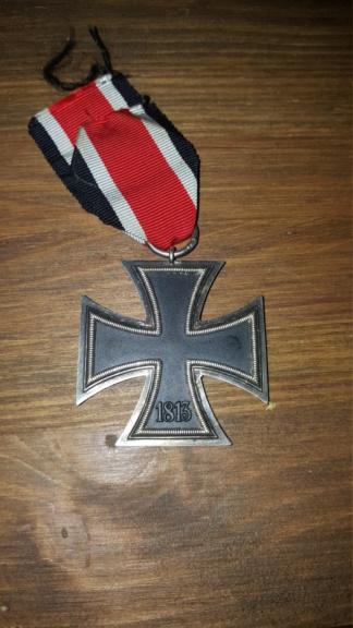 Croix de fer, insigne des blessés argent et insigne d'infanterie 20190316