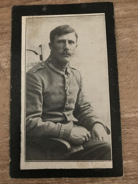 Avis de décès soldat allemand 14-18  210f0a10
