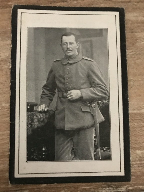 Avis de décès soldat allemand 14-18  Da4d2810
