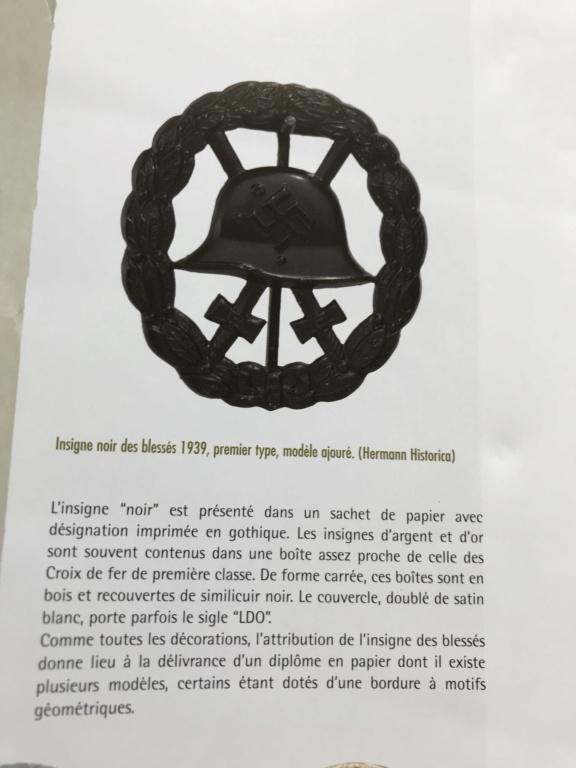Badge des blessés ajourée E8202d10