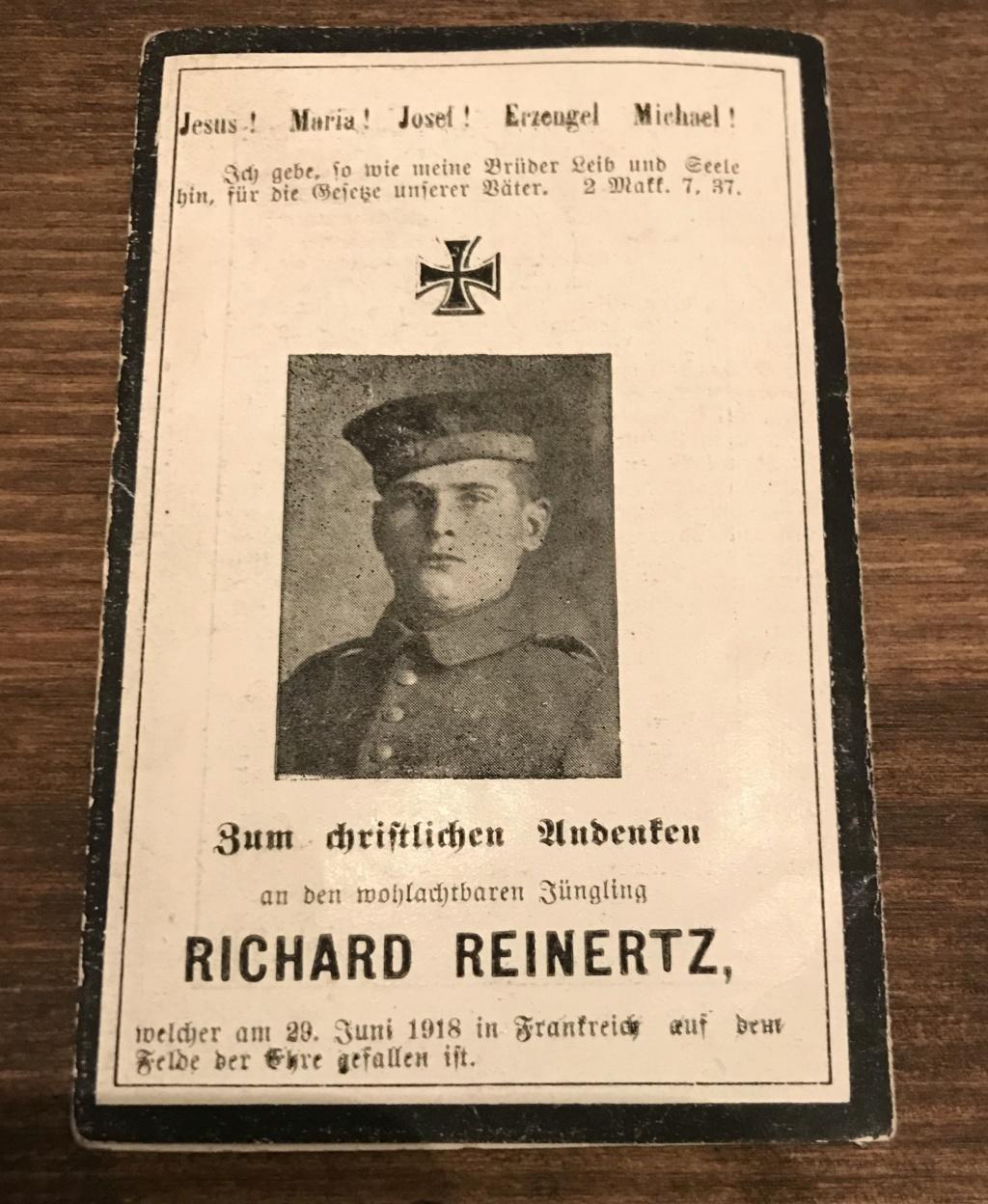 Avis de décès soldat allemand 14-18  - Page 2 Ea6df410