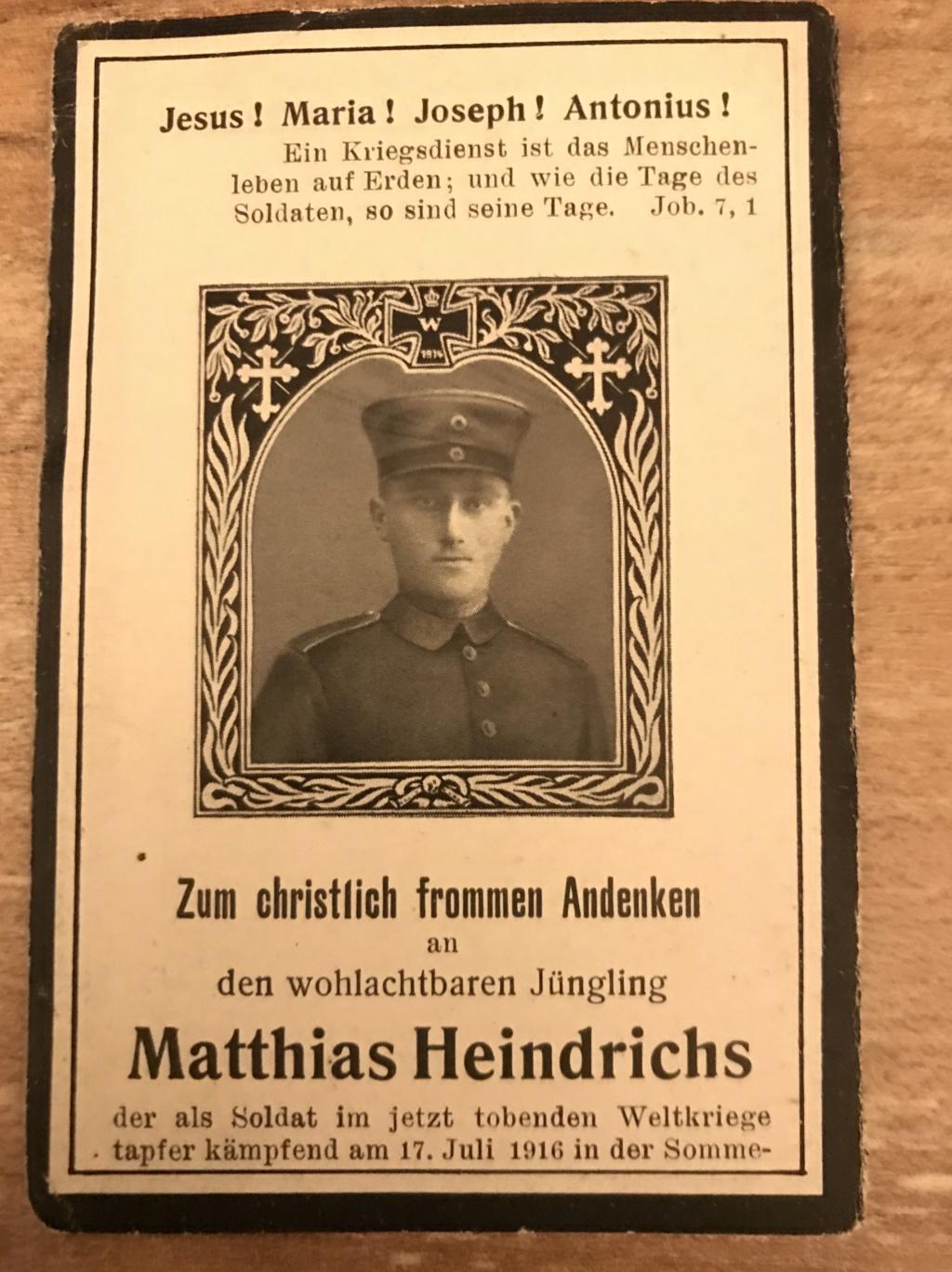 Avis de décès soldat allemand 14-18  F7db0b10