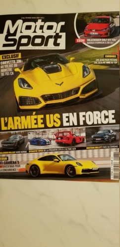Comparatif Corvette Zr1 et Mc laren 600LT de Turbo 20190211