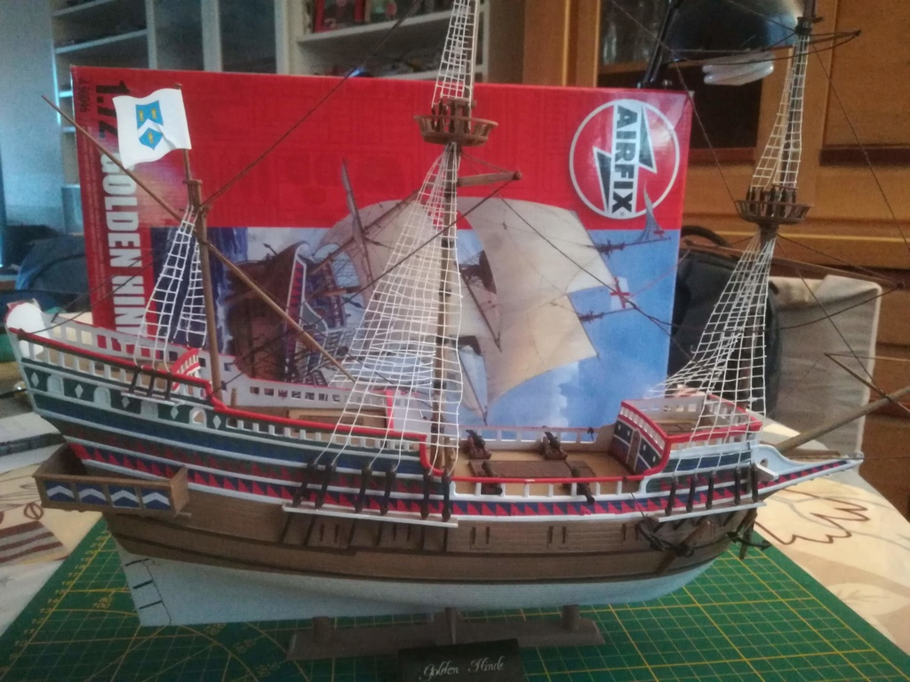 GOLDEN HIND, - Heller  Airfix - Page 2 Img_2032