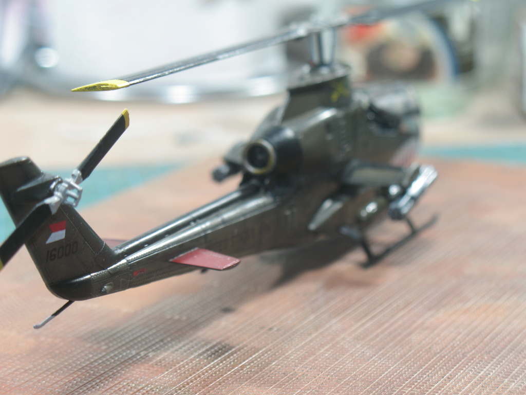 "AH-1G Cobra ""Over the USA & Europe"" Special Hobby - SH72278 - 1:72 Img_3017"
