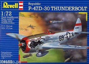 Revell 1/72 Republic P-47D-30 Thunderbolt 04155  S-l30010