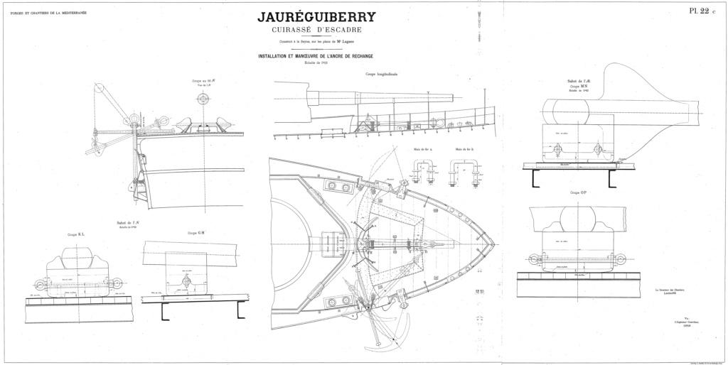 Cuirassé Jauréguiberry 1/500 Scratch - Page 3 Jaureg10