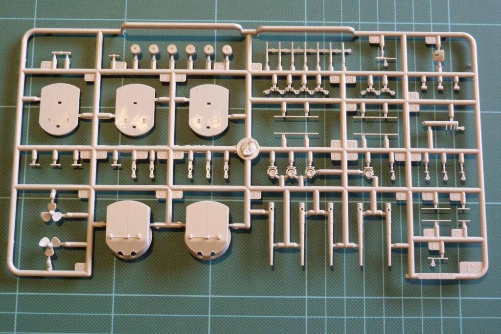 Grosser kreuzer Seydlitz Hobby Boss 1/350 P1030026