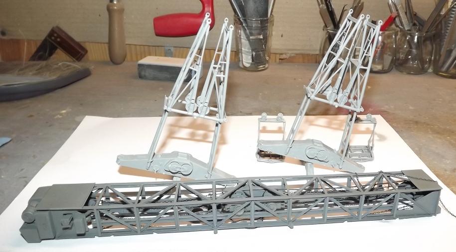 Atelier divisionnaire Normandie - Takom 1/35 Montag14